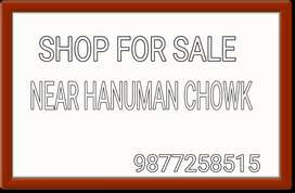 A fully furnished shop for sale only 200mr distance from hanuman chowk