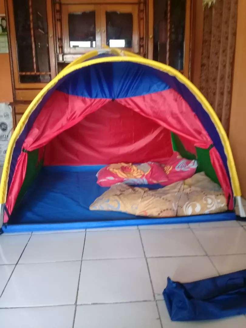 tenda anak motif spiderman bahan bagus 0