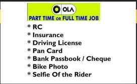 OLA Bike Taxi - Openings for Bike riders