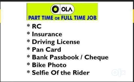 OLA Bike Taxi - Openings for Bike riders 0