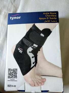 Tynor ankle brace.Size mediam