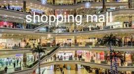 Urgently requirements in Shopping mall in Sector 22 noida..
