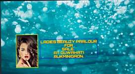 Fully AC Ladies beauty parlour for sale at rukmini gaon.
