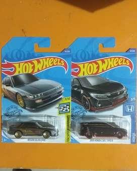 Hotwheels civic type r hitam
