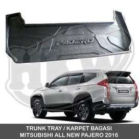 trunk tray a.n pajero 2016