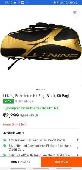 Badminton kit bag