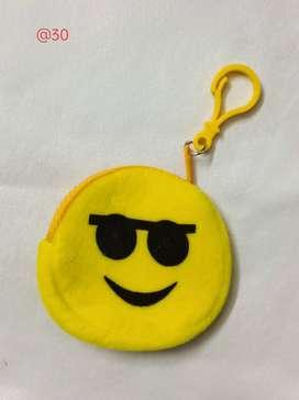 Smiley Bag cum Key Chain @ 30