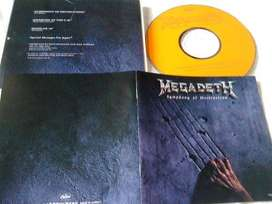 CD single Megadeth - Symphony of destruction (Japan)