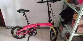 Sepeda Lipat Pacific 2980 RX 6.8 16 inc