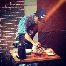 Barista professional & konsultan coffee shop