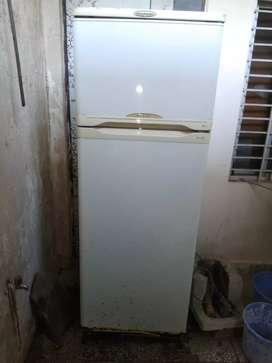 The fridge is of kelvinator
