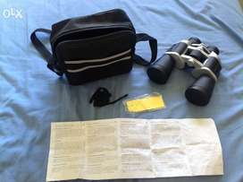 Binoculars - 10*50 + Carry Case + Cleaning Cloth + Manual