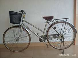 Sepeda Clasic Bridgestone Lacrose 3 Speed ( Belt Drive)