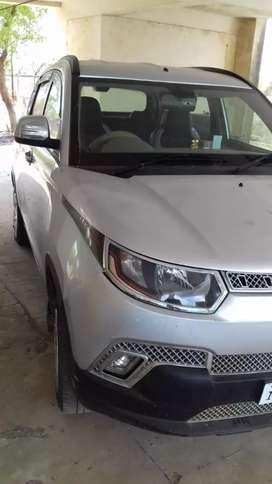 Mahindra kuv 100 k4 6 searer car aug 16 ki hai