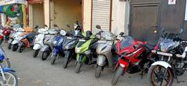 All types of second hand two wheeler available for sale