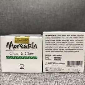 Moreskin clean and glow