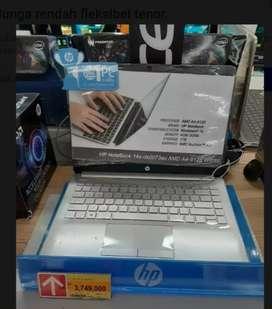Kredit LAPTOP HP Notebook 14s DK0073AU Cukup DP 580,000 Proses 3Menit