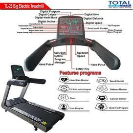 Treadmill Elektrik 7HP TL-26 AC