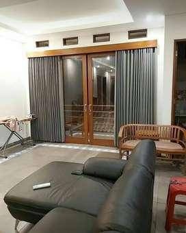 Gorden Kantor Rumah dan Apartemen Vertikal Roller Horizontal Blinds