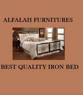 ALFALAH NEW HOME FURNITURE Iron Bed Double best quality