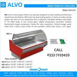 ALVO Meat Display Chiller, Meat Shops Equipment in Pakistan