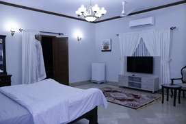 Fully Furnished Rooms For Rent DHA Phase 7