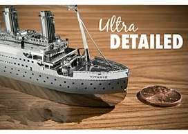 Puzzle 3d metal titanic