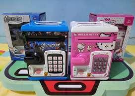 Celengan otomatis anak-anak / saving box anak-anak