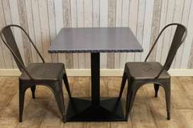 Cafe Taria tables with chairs, import quality