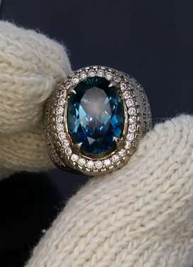 Natural London Blue Topaz
