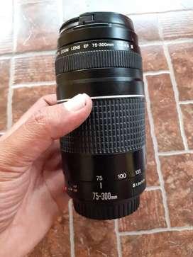 Tele Canon 75 300