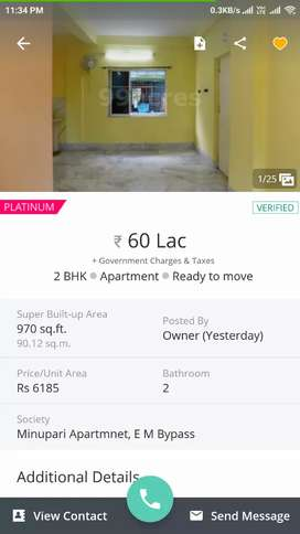 Apartment for sale in EMBypass