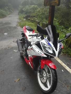 Yamaha R15 is in good condition