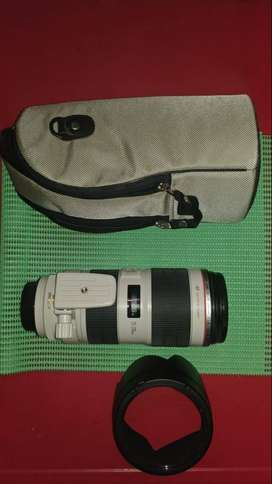Canon Lens 70-200mm f2.8 L IS II USM - Nego