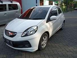 honda brio 1.2 tipe E automatic AT 2014 Putih Surabaya
