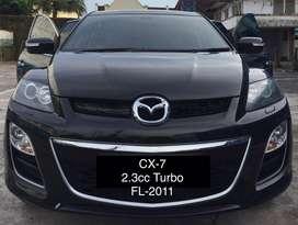 Mazda CX7 Facelift tahun 2011,bisa tt harrier,Pajero,Innova,crv