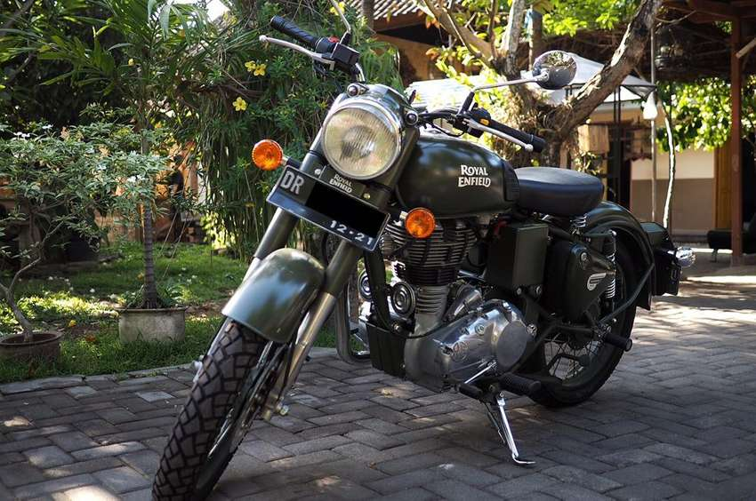 Royal Enfield Classic Battle Green 500cc 0