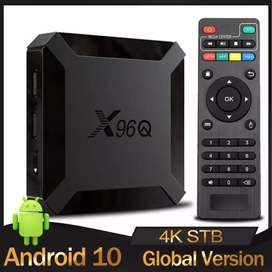 SMART TV BOX ( X 96 Q 4 GB RAM 64 GB ROM )