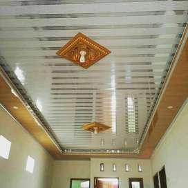 PLAVON PVC PEMBORONG TERMURAH JASA PEMASANGAN DESAIN