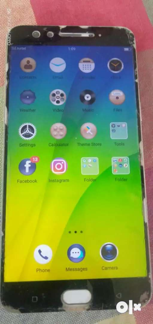 OPPO f3 plus, good condition, tempered glass crashes 0