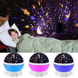 Star Master Rotating Projector Lamp (free home delivery)