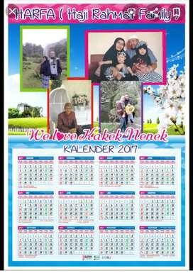 Kalender murah meriah