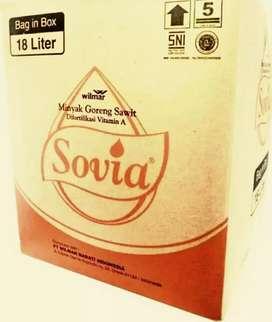 Minyak Goreng Sovia 18-liter BIB