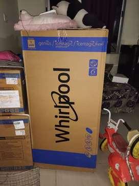 packed New whirphool 188L 5 star fridge