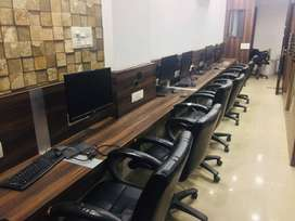 10 Seater Furnished Commercial Office For Rent/Lease At New Palasia