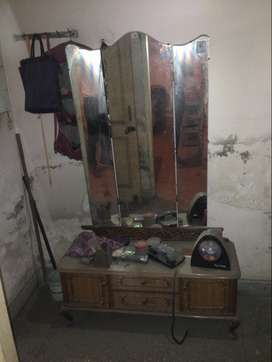 Wooden Dressing Table Made Of Kartarpur For Sale