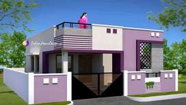 New 650.sqft 2.bhk house constructed in 3 cents at aluva thiruvallur