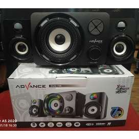 PROMO SPEAKER ADVANCE DUO700-SPIKER AKTIF COLOKAN USB AUX MMC FM-BASS