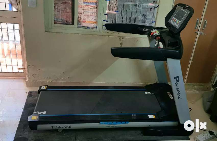 PowerMax Fitness TDA-550 4.0HP Motorized Treadmill 0