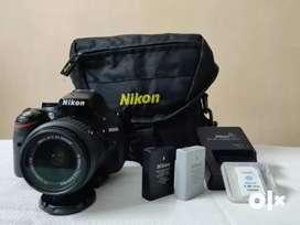 Nikon d5200 with 15-55 VR Auto focus lens
